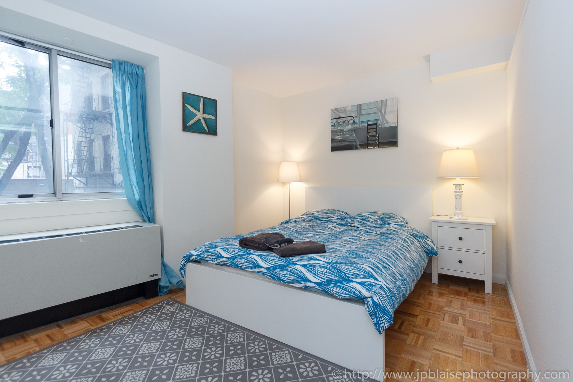 Apartment-photographer-New-York-City-Two-Bedroom-Midtown-East-NY-Bed-1
