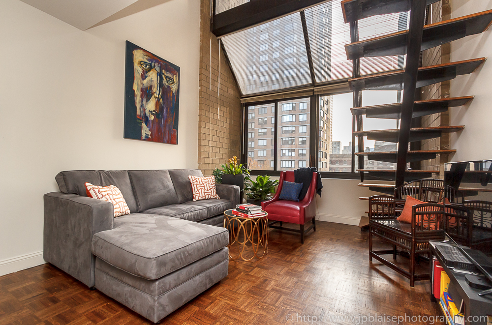 New york city interior photographer latest photoshoot for New apartments