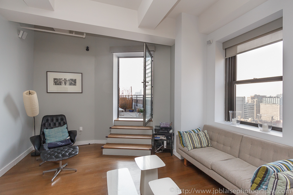 Interior photos of the day downtown brooklyn 2 3 bedroom gem with private terrace jp blaise for Two bedroom apartments in brooklyn ny