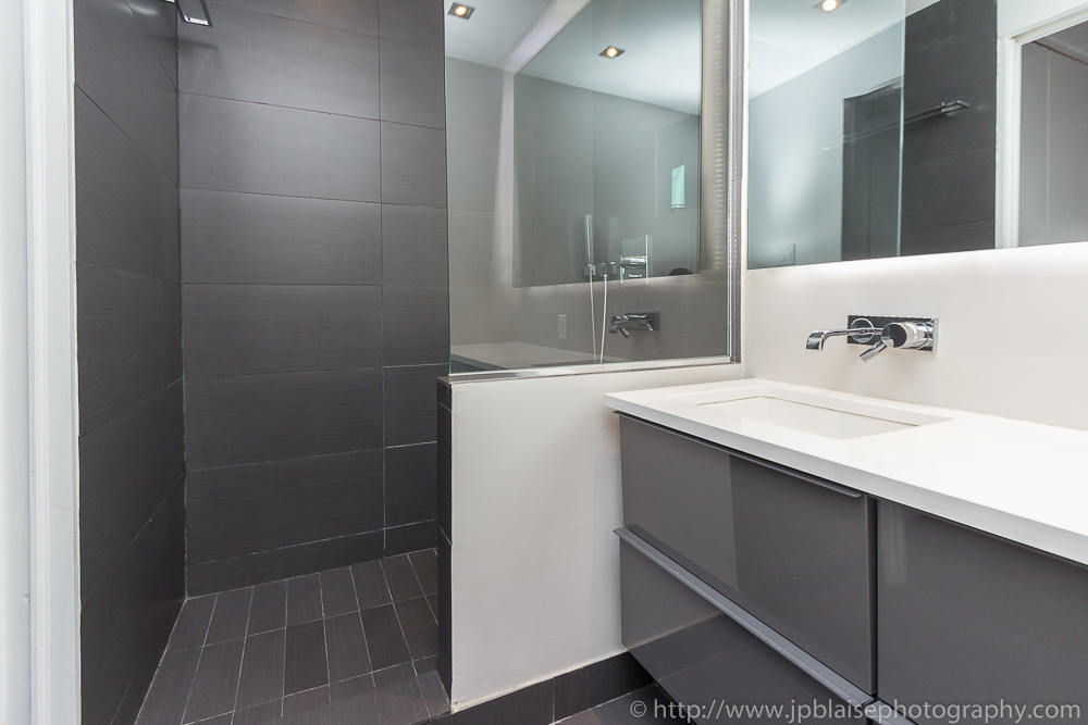 Bathroom of East Village duplex (real estate photography)