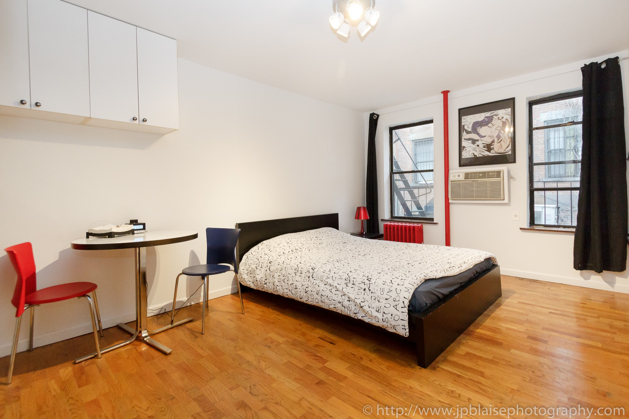Interior Photographer work: rooms for rent in midtown west new york city manhattan