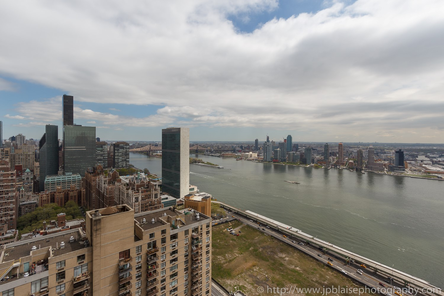 Interior photographer work studio apartment in midtown east New York east river views