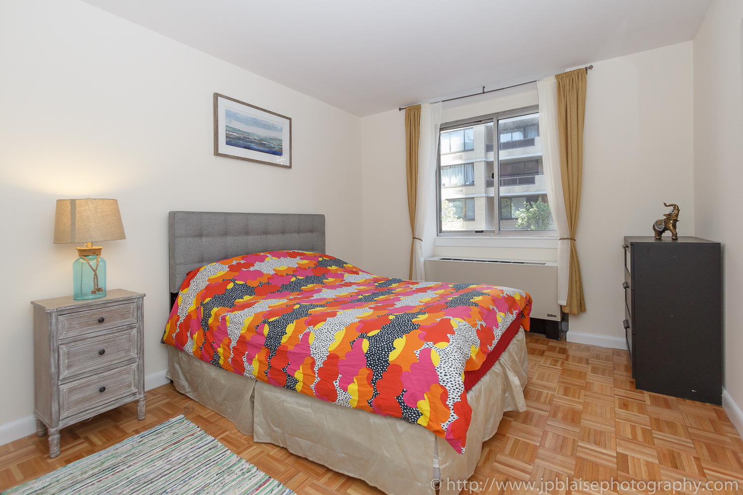 Latest NYC Real Estate photographer work two bedroom two bathroom in Midtown East, Manhattan - picture of master bedroom