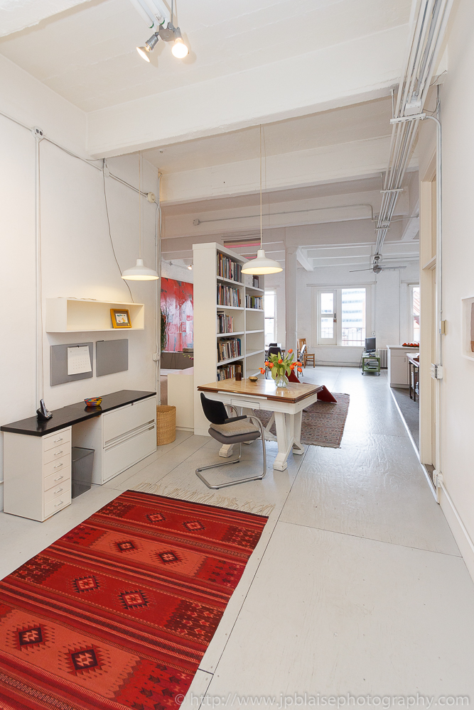 NY Apartment and Interior photographer work modern loft in Chelsea