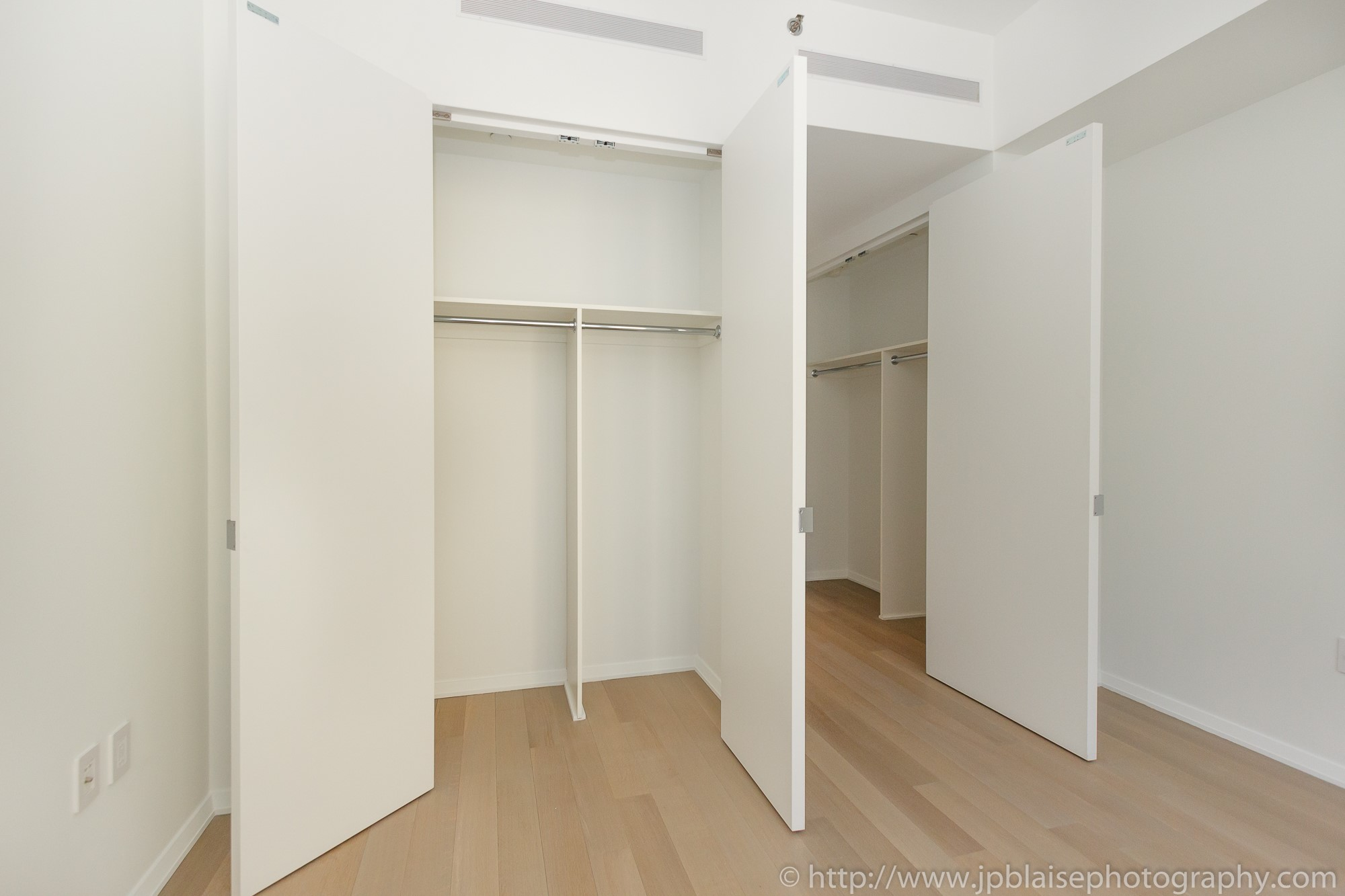 NY apartment photographer one bedroom battery park city manhattan new york city closet