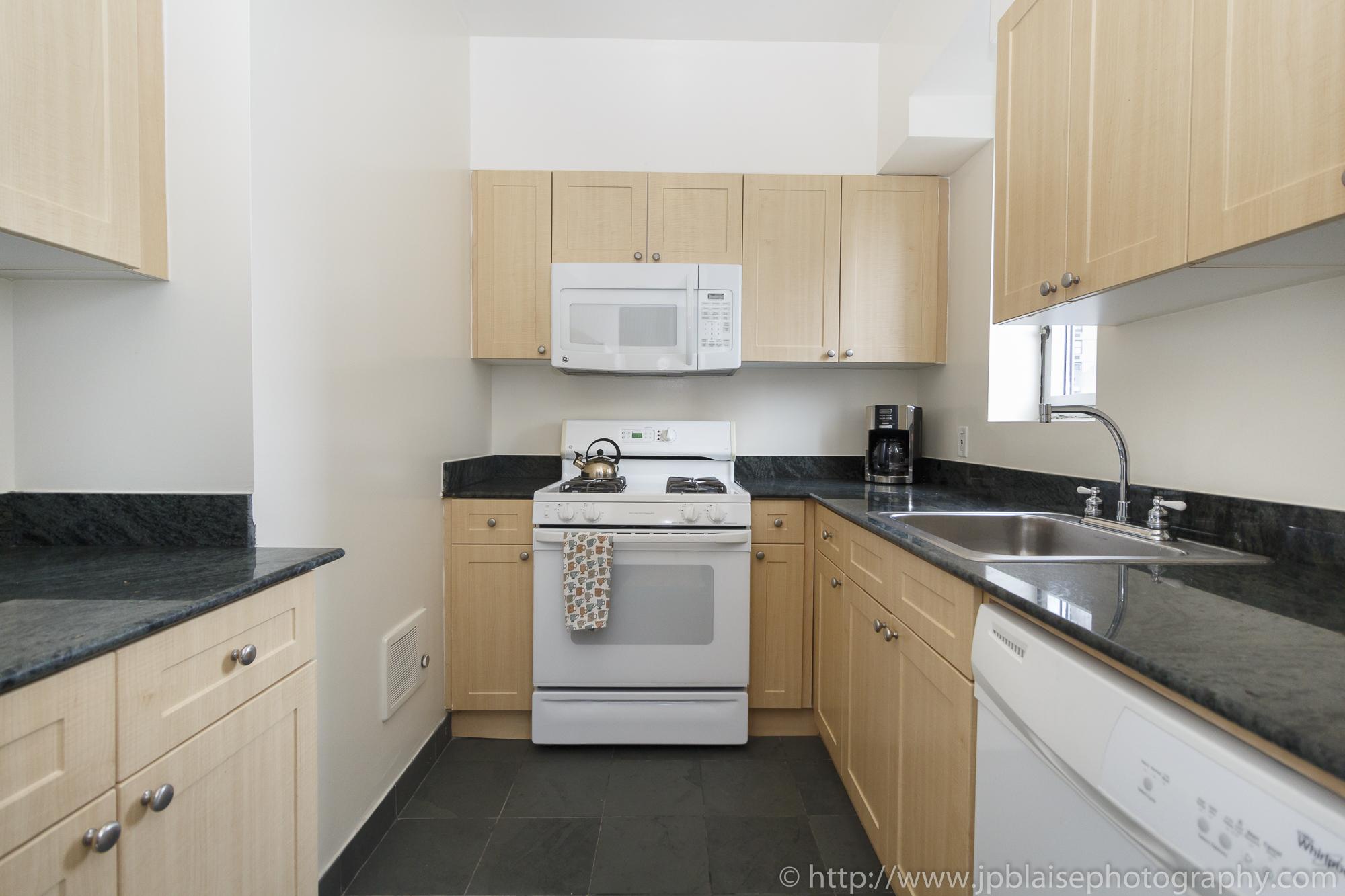 NY apartment photographer real estate airbnb interior midtown manhattan kitchen