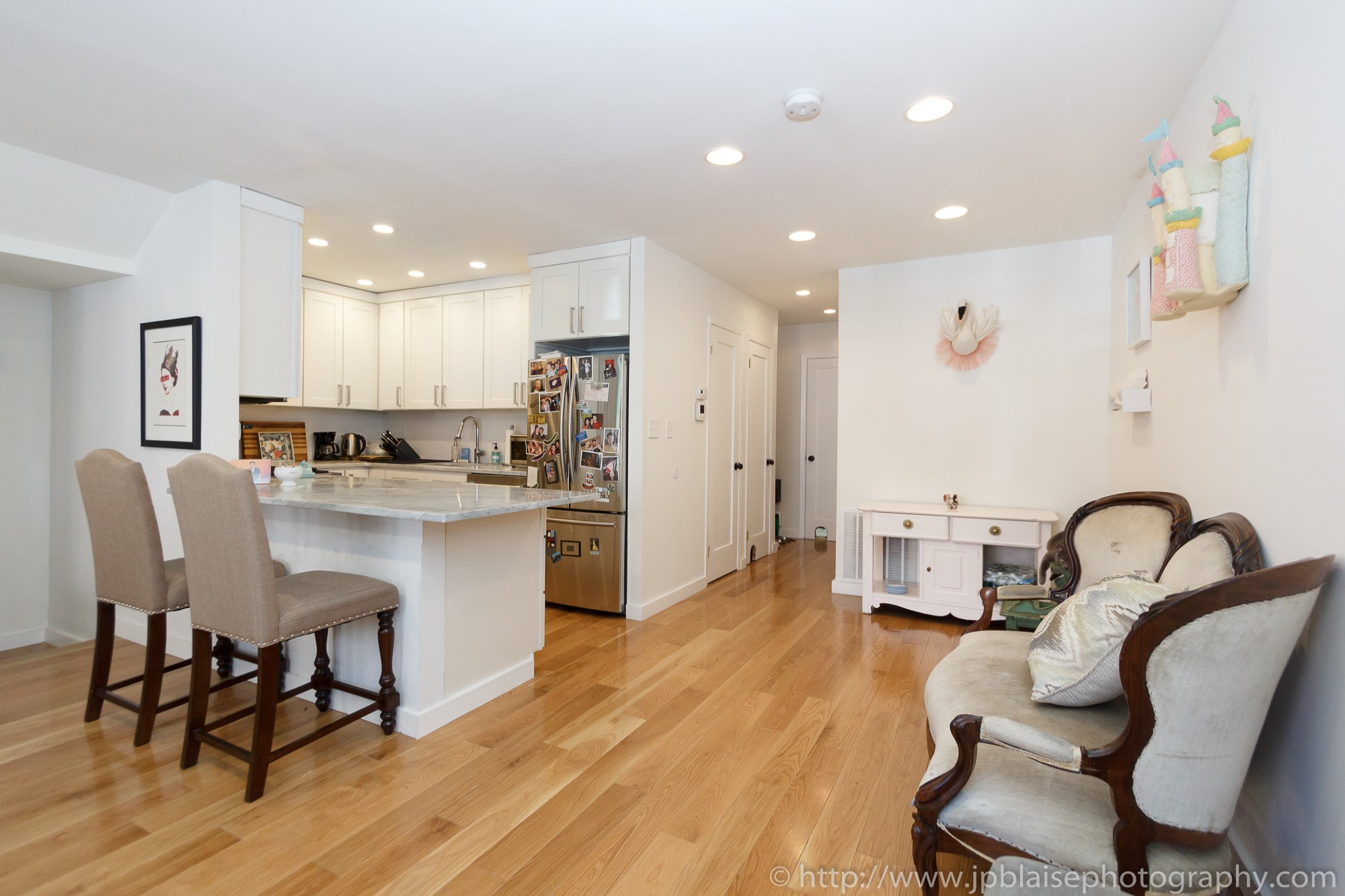 NYC Brooklyn apartment photographer Bushwick two bedroom living room