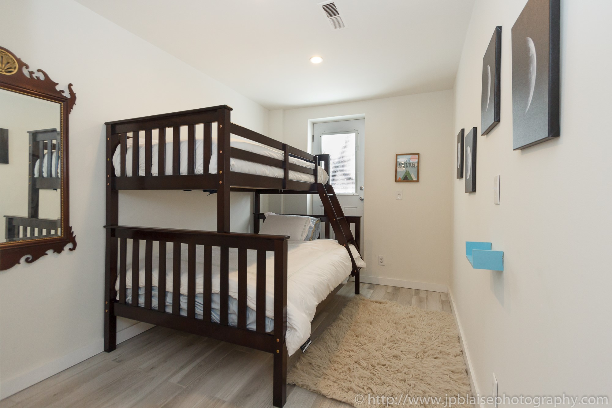 NYC Brooklyn apartment photographer Bushwick two bedroom with bunk beds