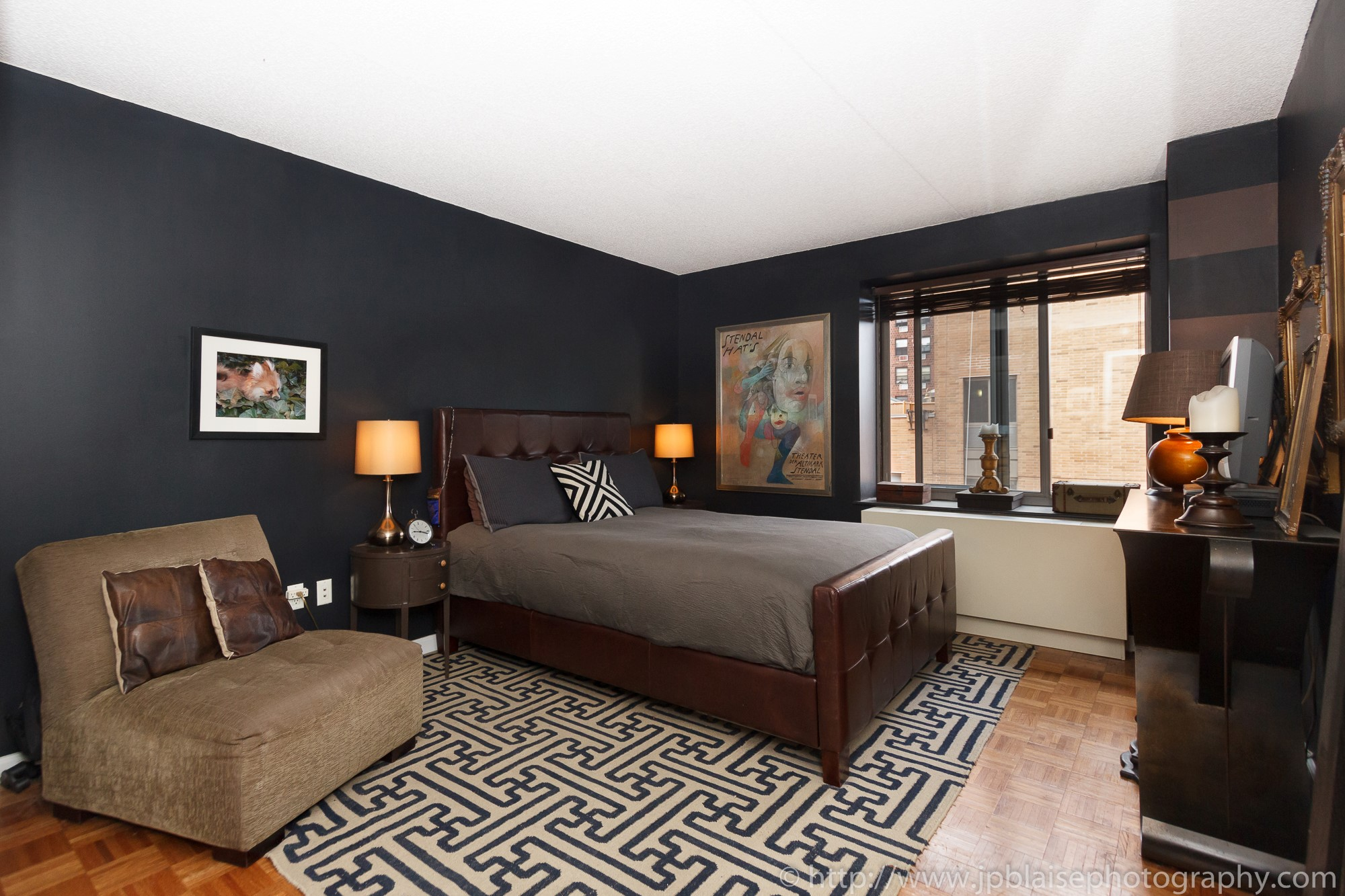 NYC apartment photographer central harlem condo unit new york city bedroom