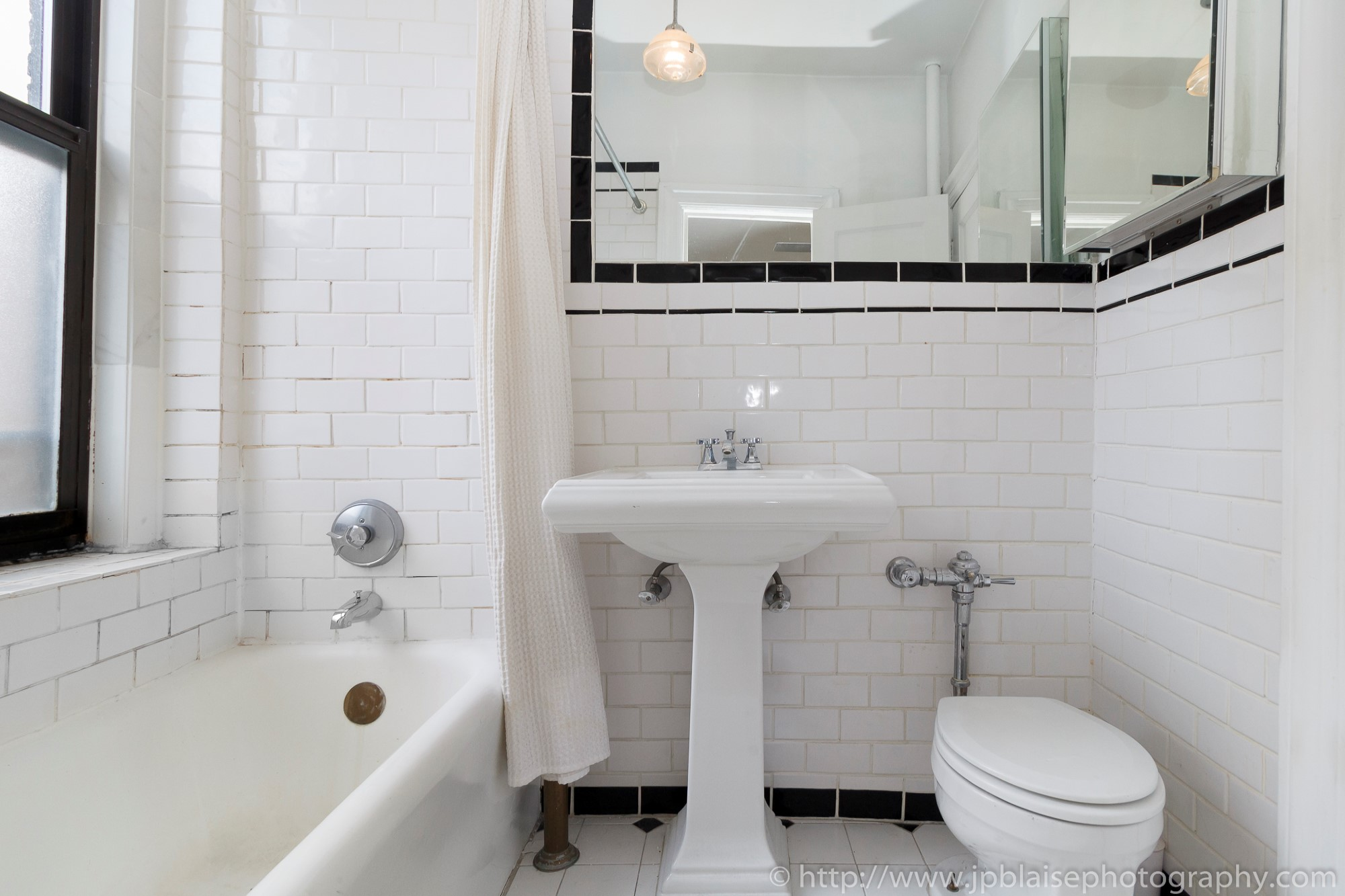 NYC apartment photographer one bedroom coop for sale west village ny real estate photography bathroom