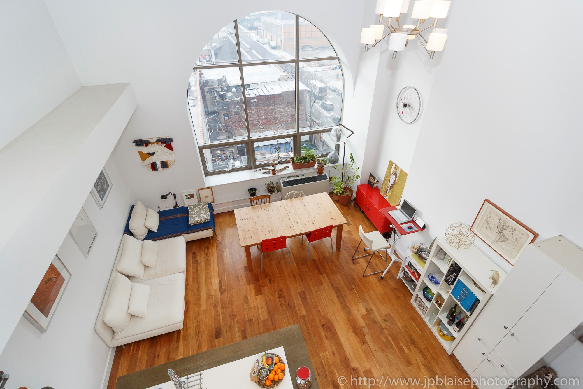 NYC apartment photographer real estate Long island city new york queens loft view