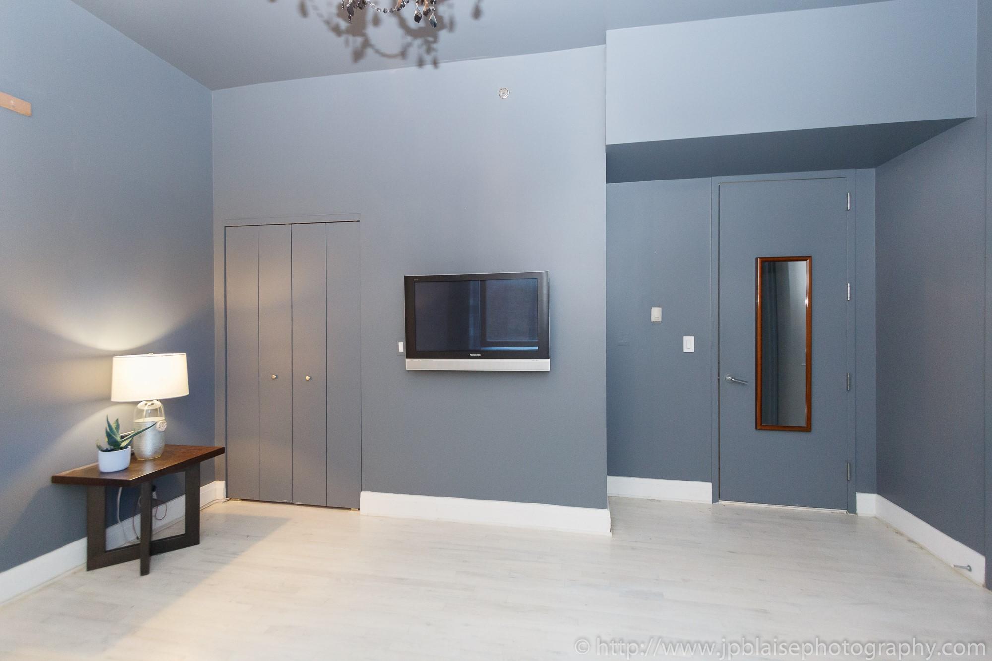 NYC apartment photographer work one bedroom condo in chelsea manhattan bedroom new york