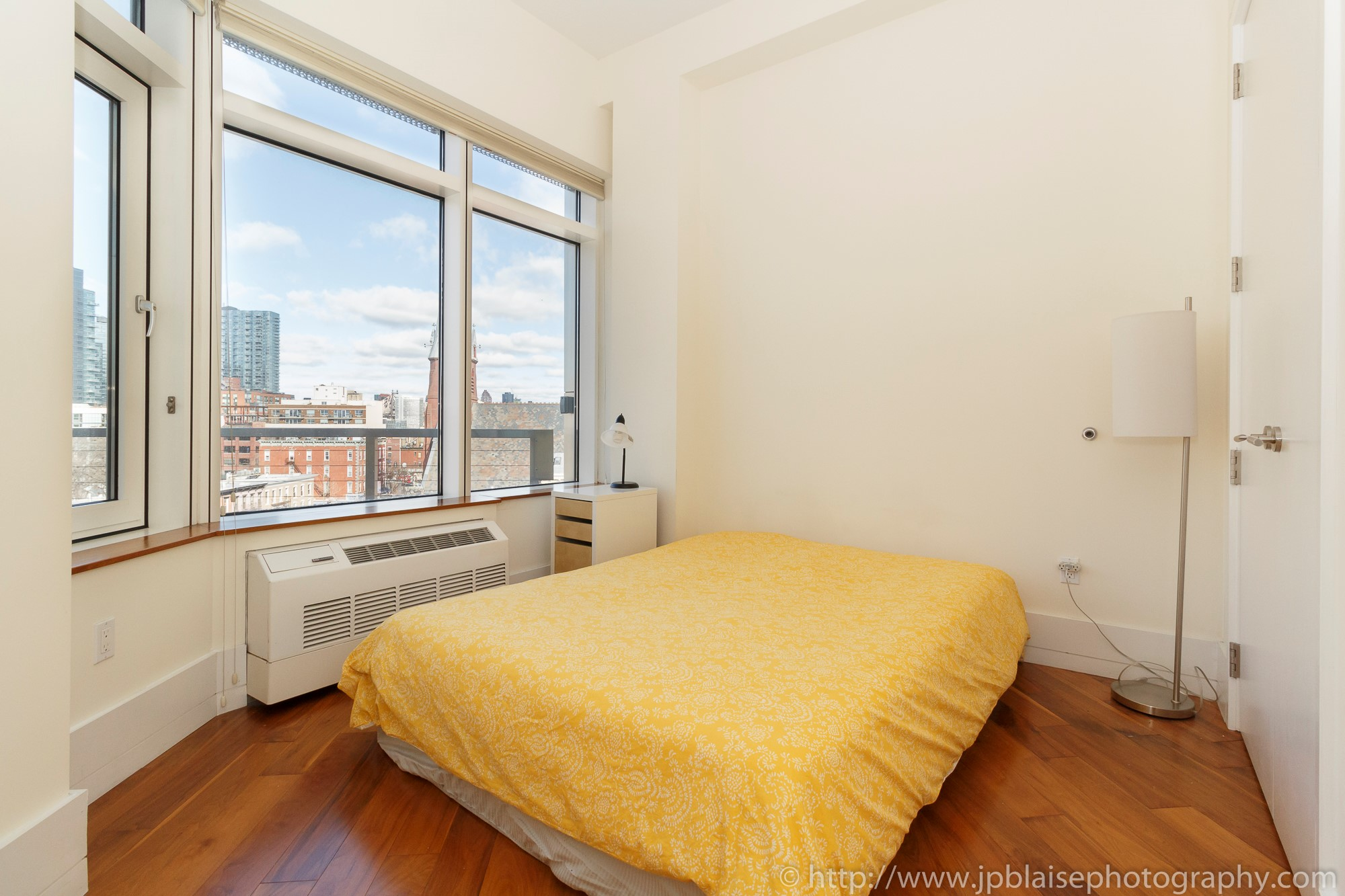 NYC new york apartment photographer one bedroom real estate interior long island city Queens Bedroom