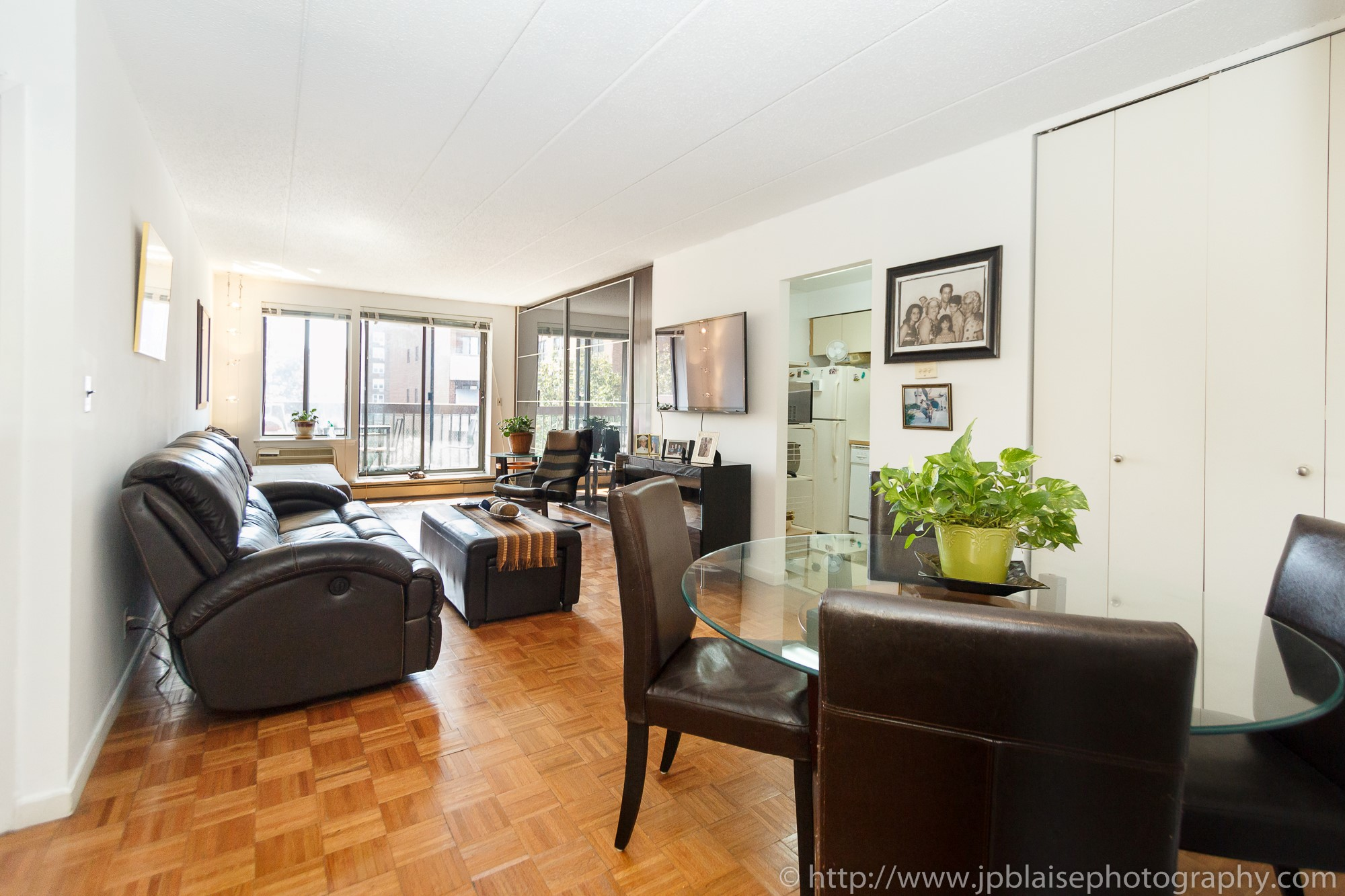 New York Apartment Photographer One Bedroom Rego Park Queens Living Room
