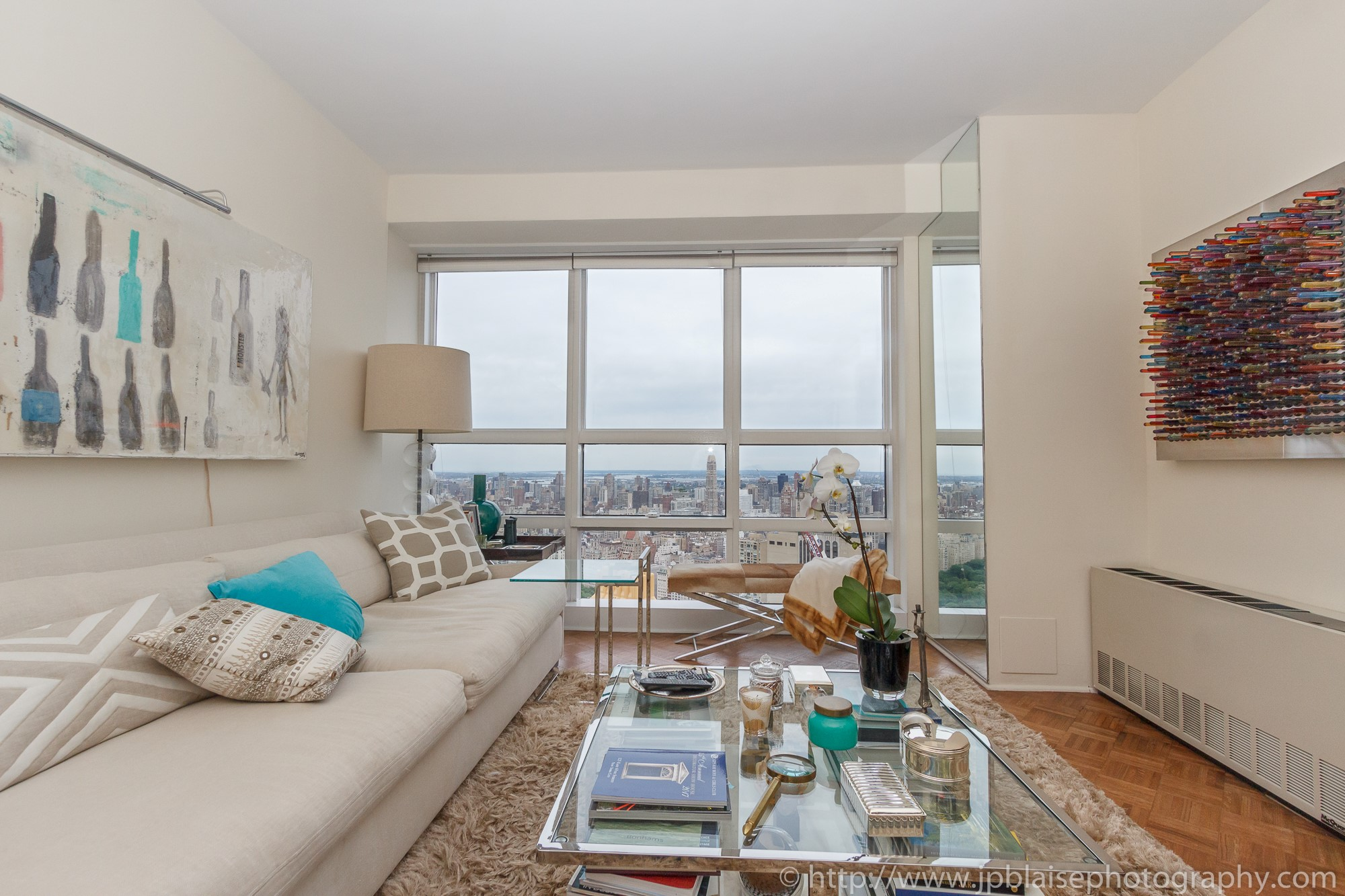 New York City apartment photographer one bedroom Midtown NYC gorgeous views