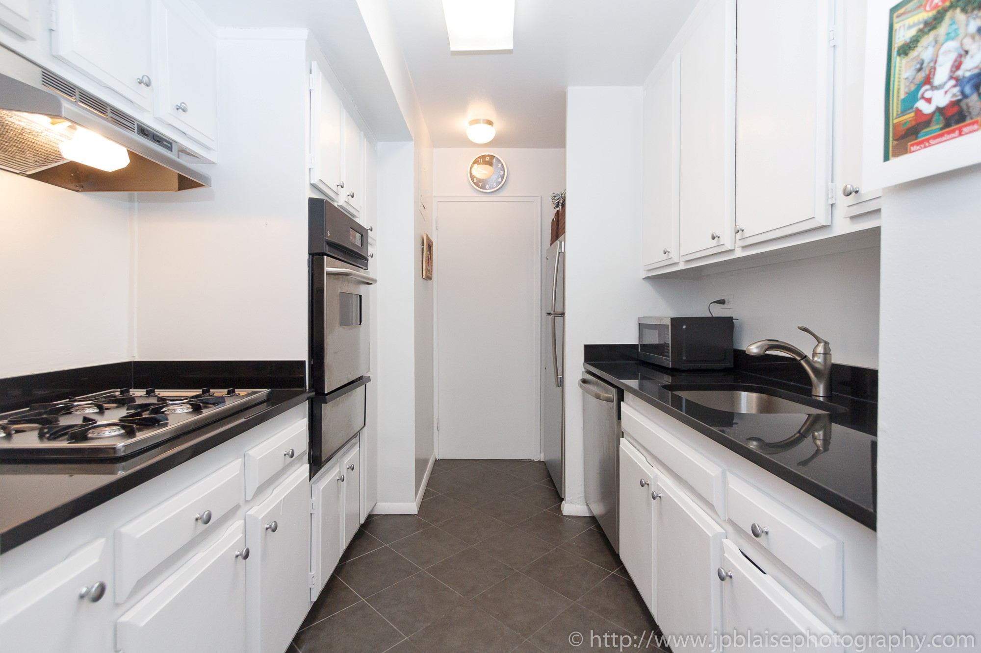 New York City apartment photographer two bedroom unit on the Upper East Side kitchen