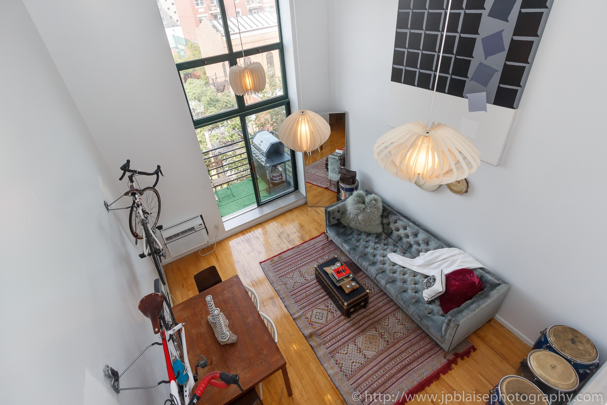 new  York apartment photographer two bedroom loft williamsburg brooklyn