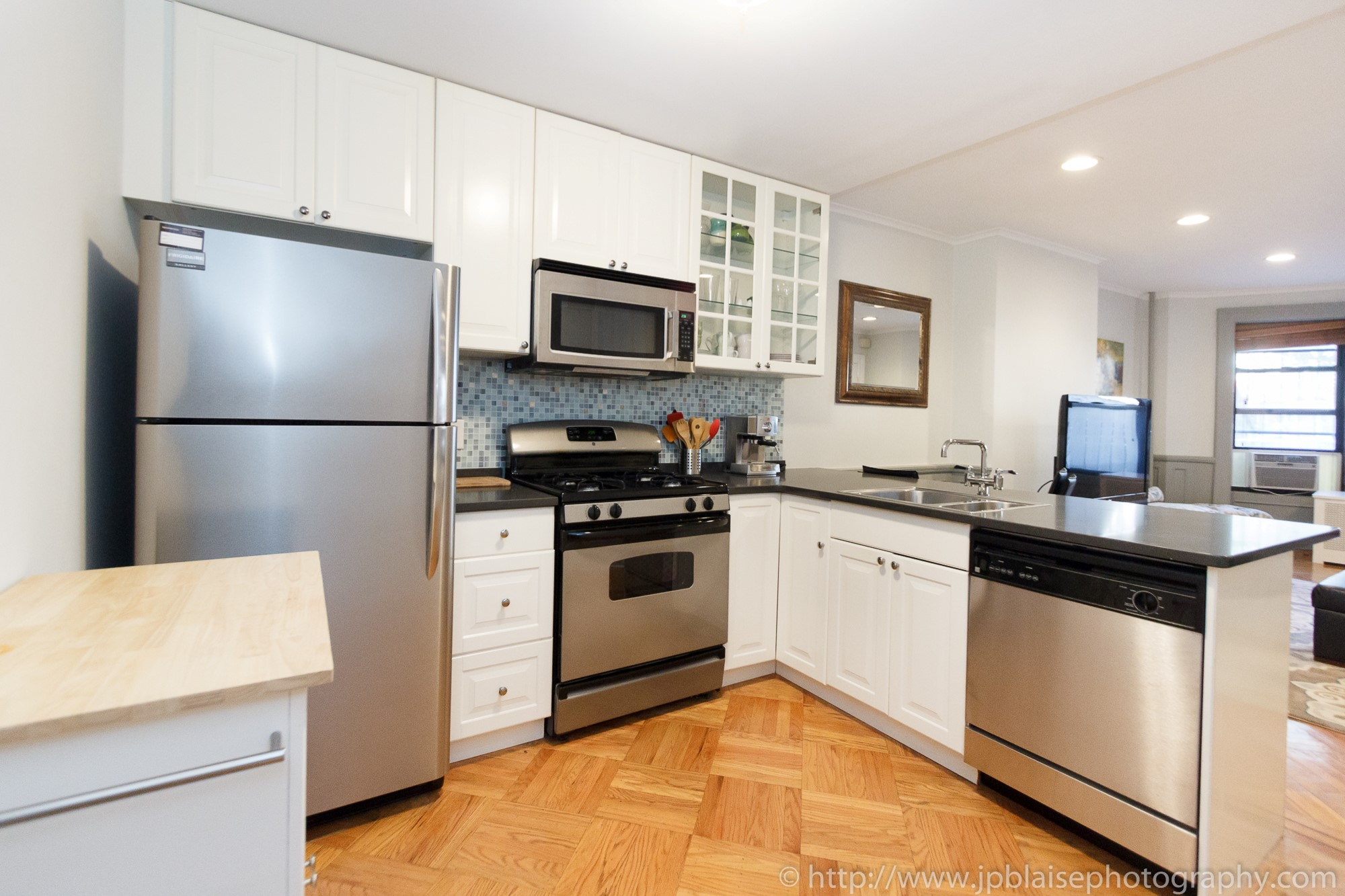new york city apartment photographer park slope brooklyn one kitchen