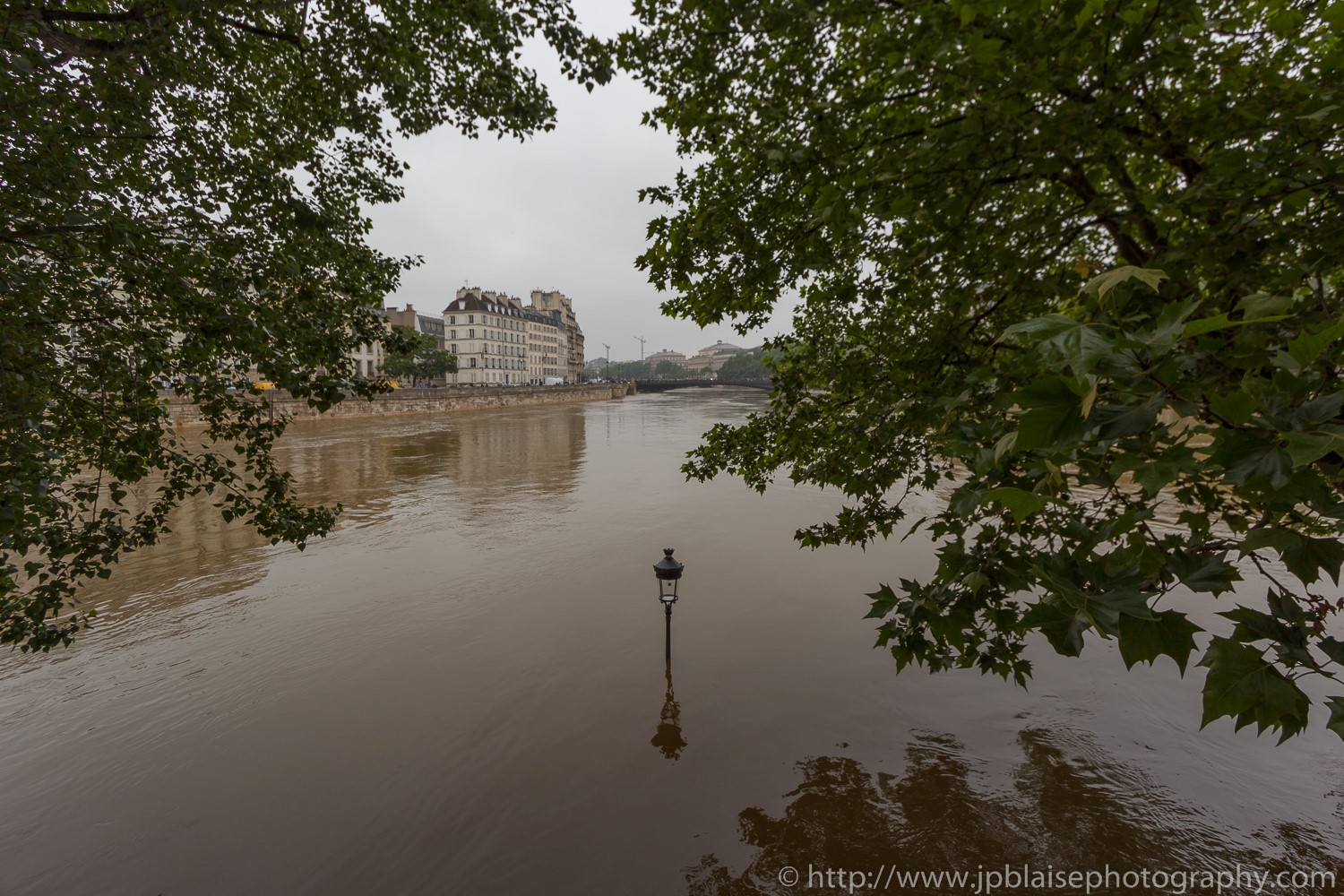 Paris flooding river banks interior photographer