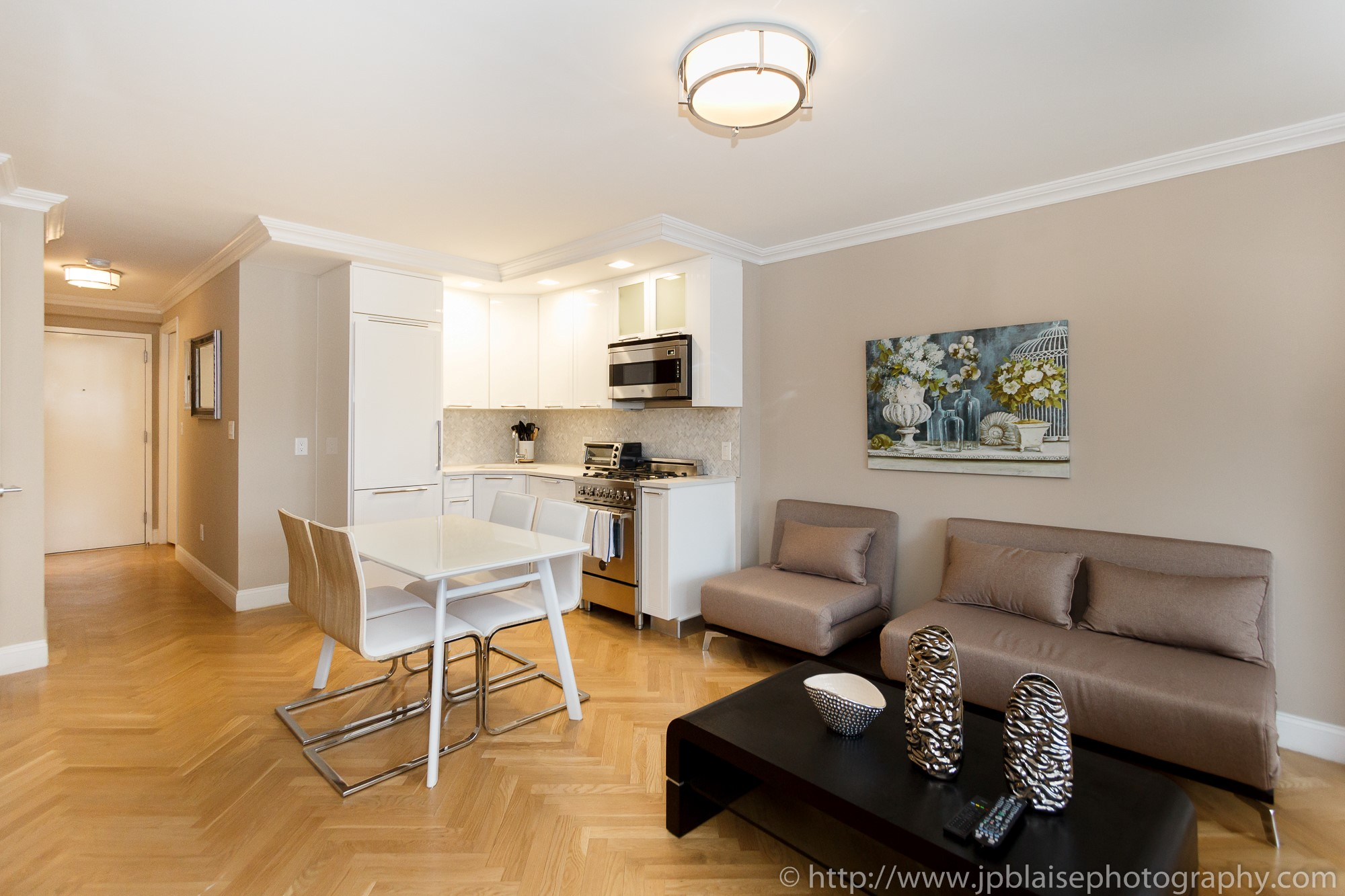 New york city interior photography session modern one for 1 bedroom apartments for sale nyc