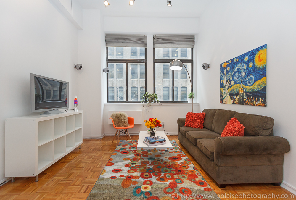 one bedroom apartment in midtown west and this new york interior photo