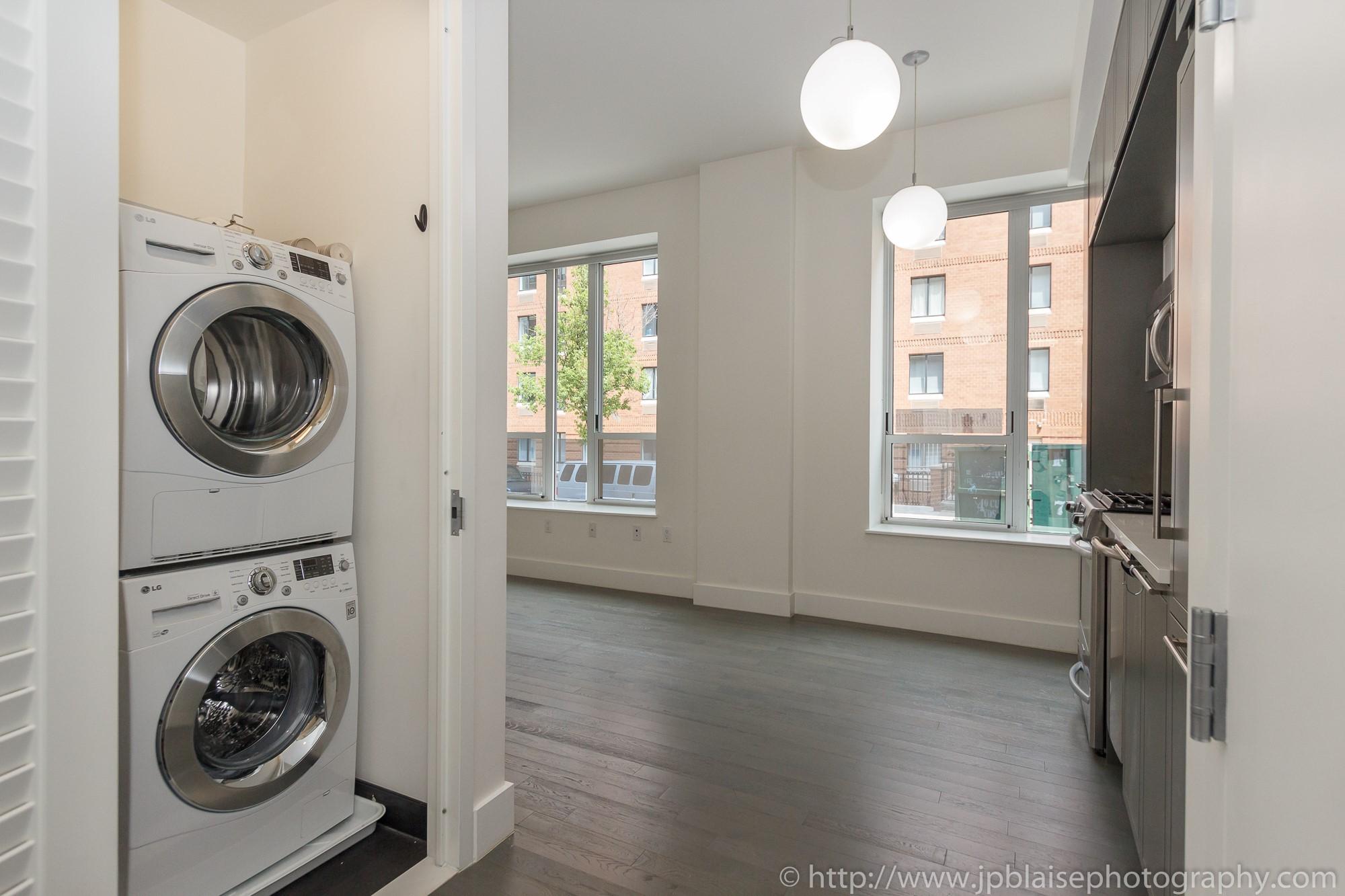 Real Estate Apartment Photographer Midtown West 1 Bedroom Unit Entrance Jp Blaise Photography