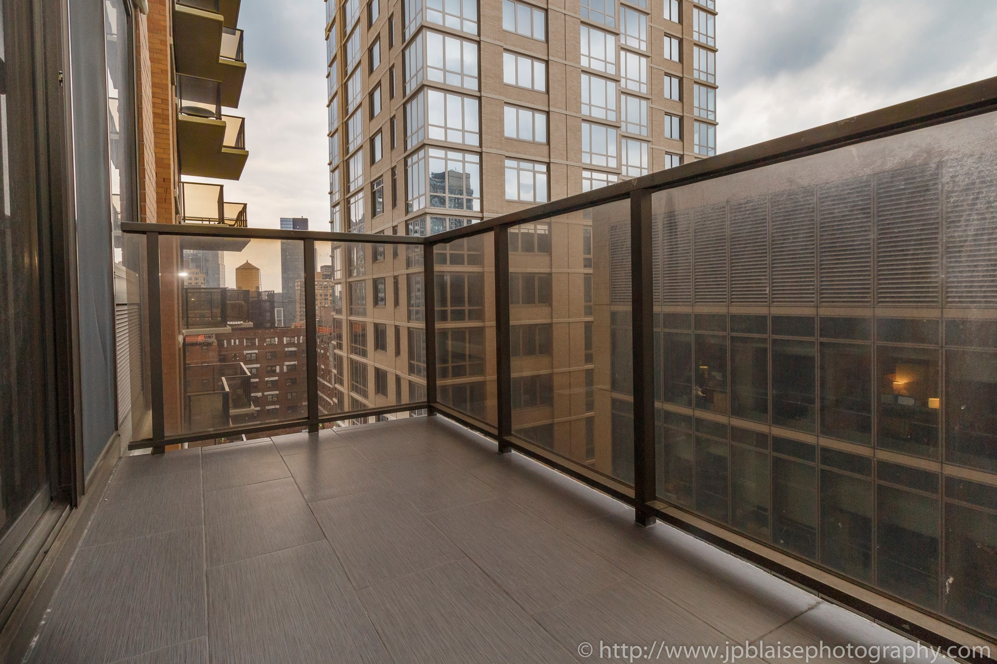 Real estate apartment photographer upper east side new york city one bedroom balcony
