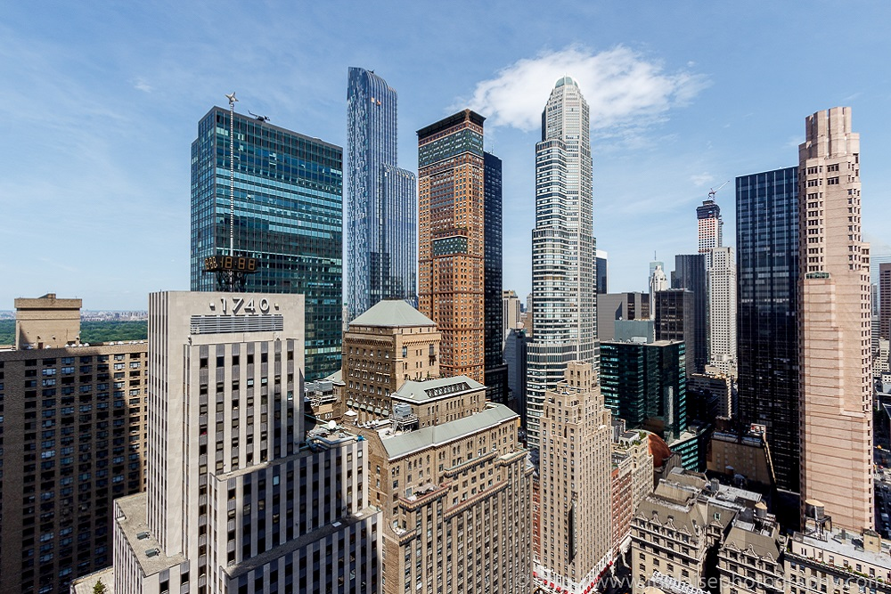 Apartment Photographer Work: Staggering Views Of Midtown Manhattan From  Bedroom