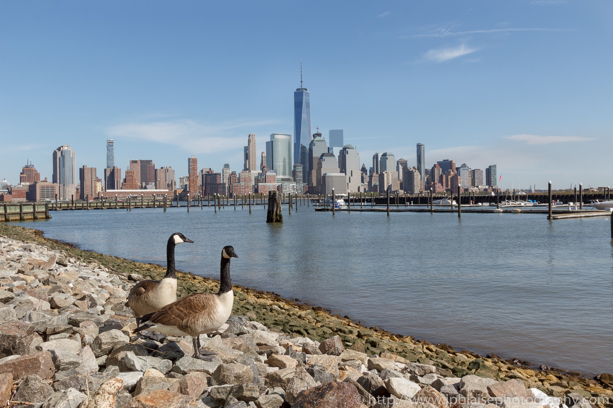Real estate photographer work manhattan views from New Jersey waterfront
