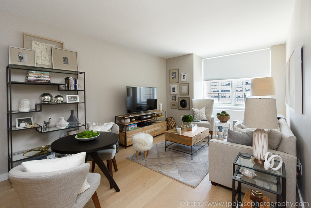 Latest New York Real Estate Photographer Work Luxurious 1 Bedroom Apartment In Midtown West