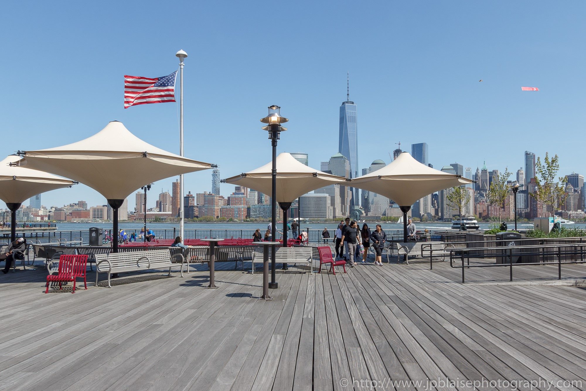 Real estate photography work manhattan views from New Jersey waterfront