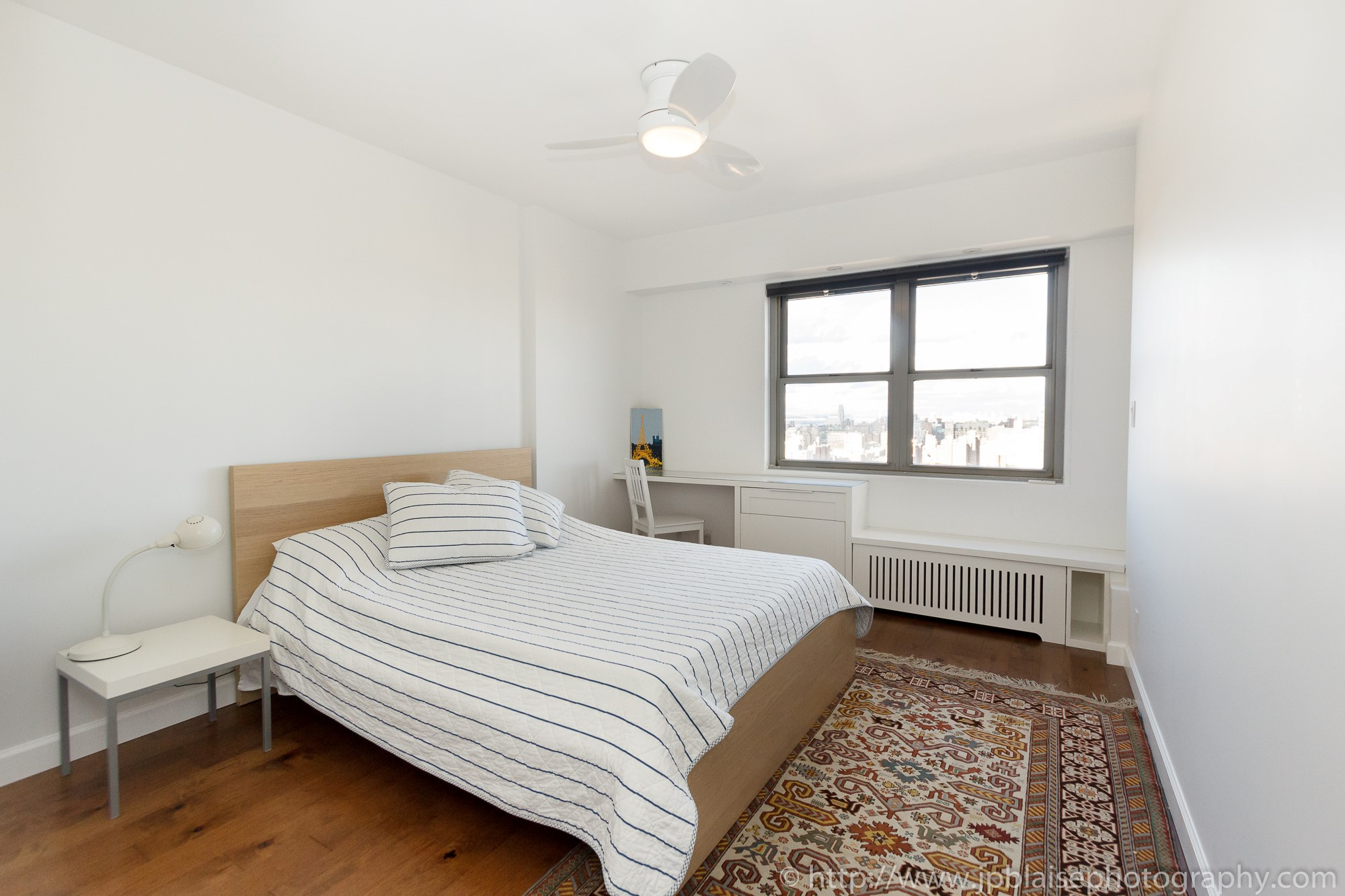 apartment photographer new york nyc one bedroom with terrace upper west side manhattan bedroom