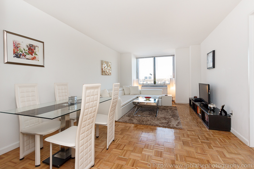 New York Apartment Photographer Work Of The Day Bright And Modern One Bedroom Apartment On The