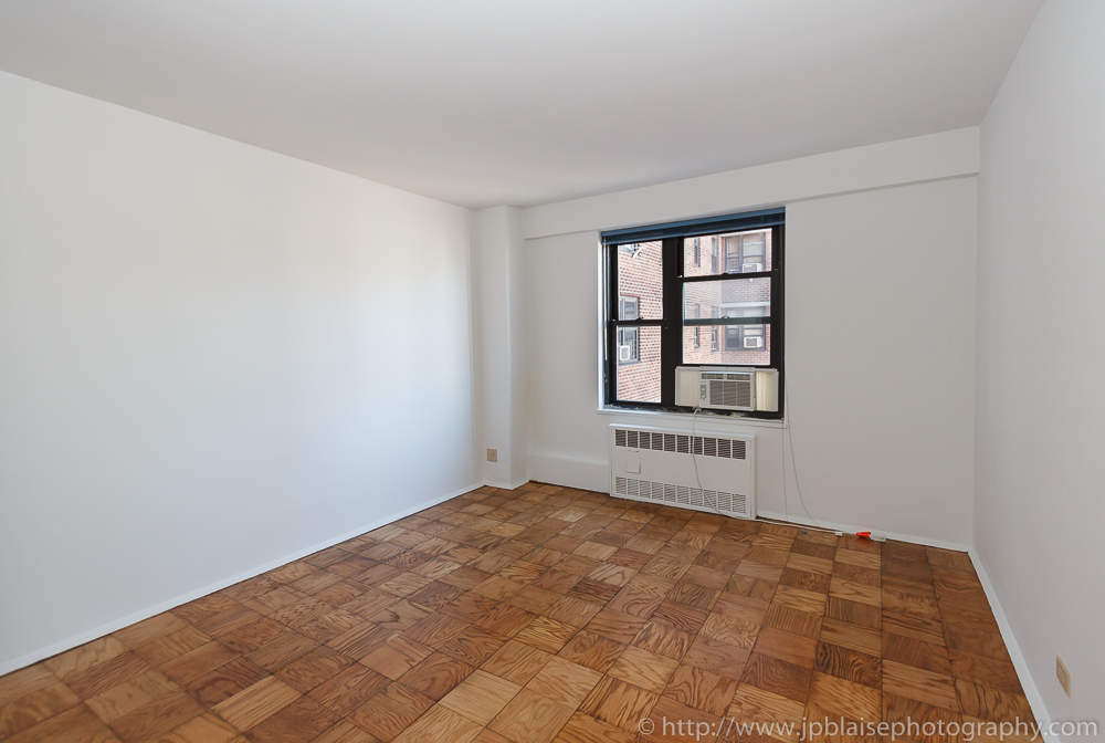 NY Real Estate photographer photosession: Bedroom of Lower East Side Apartment