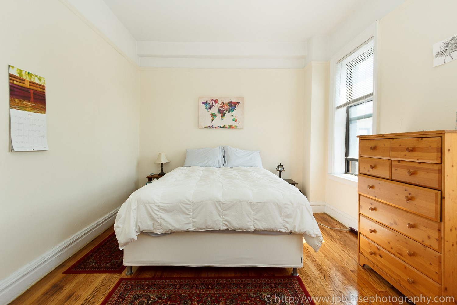 bedroom real estate photography work one bedroom in washington heights new york city