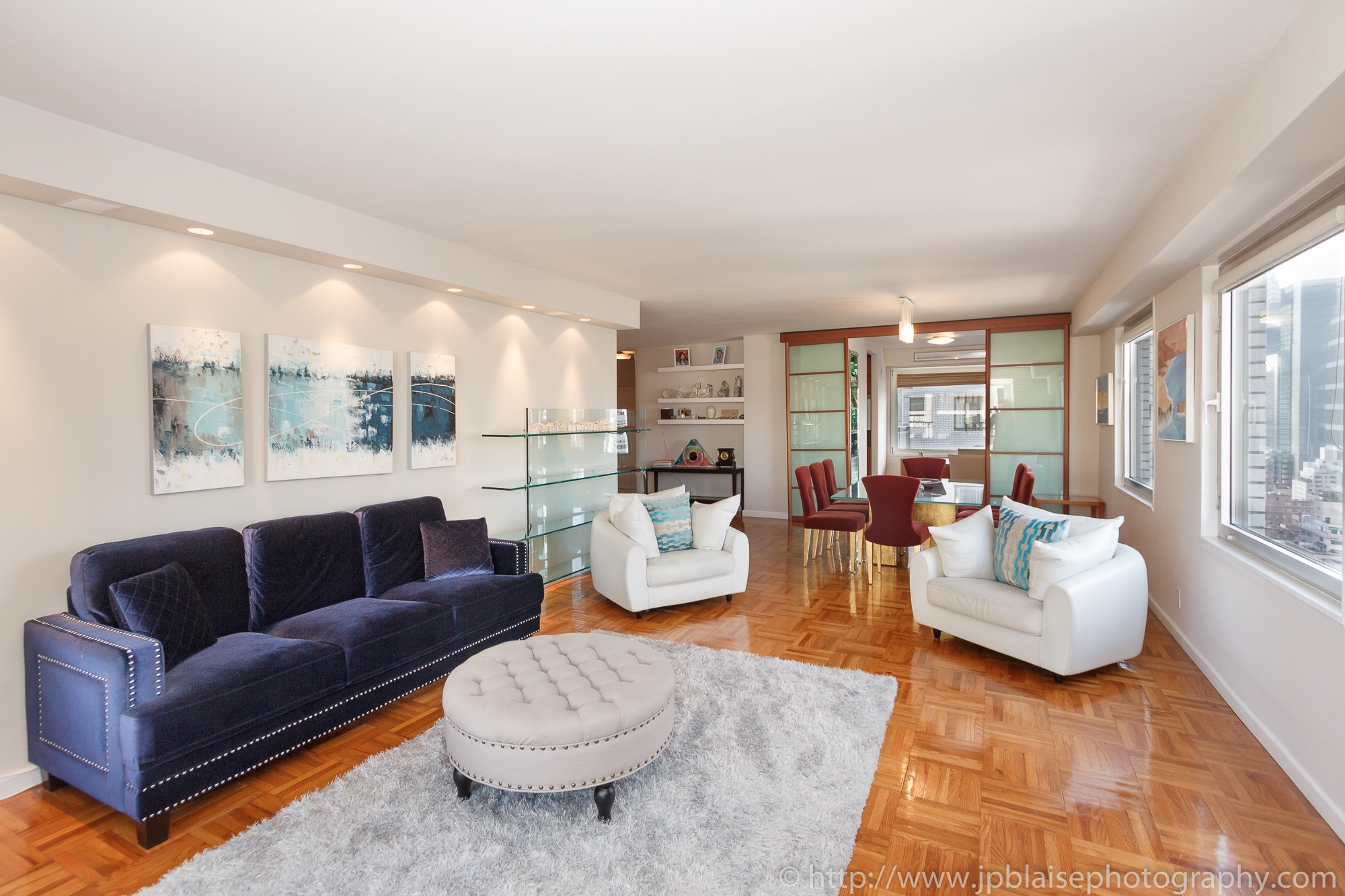 living room apartment photographer work three bedroom sutton place new york city