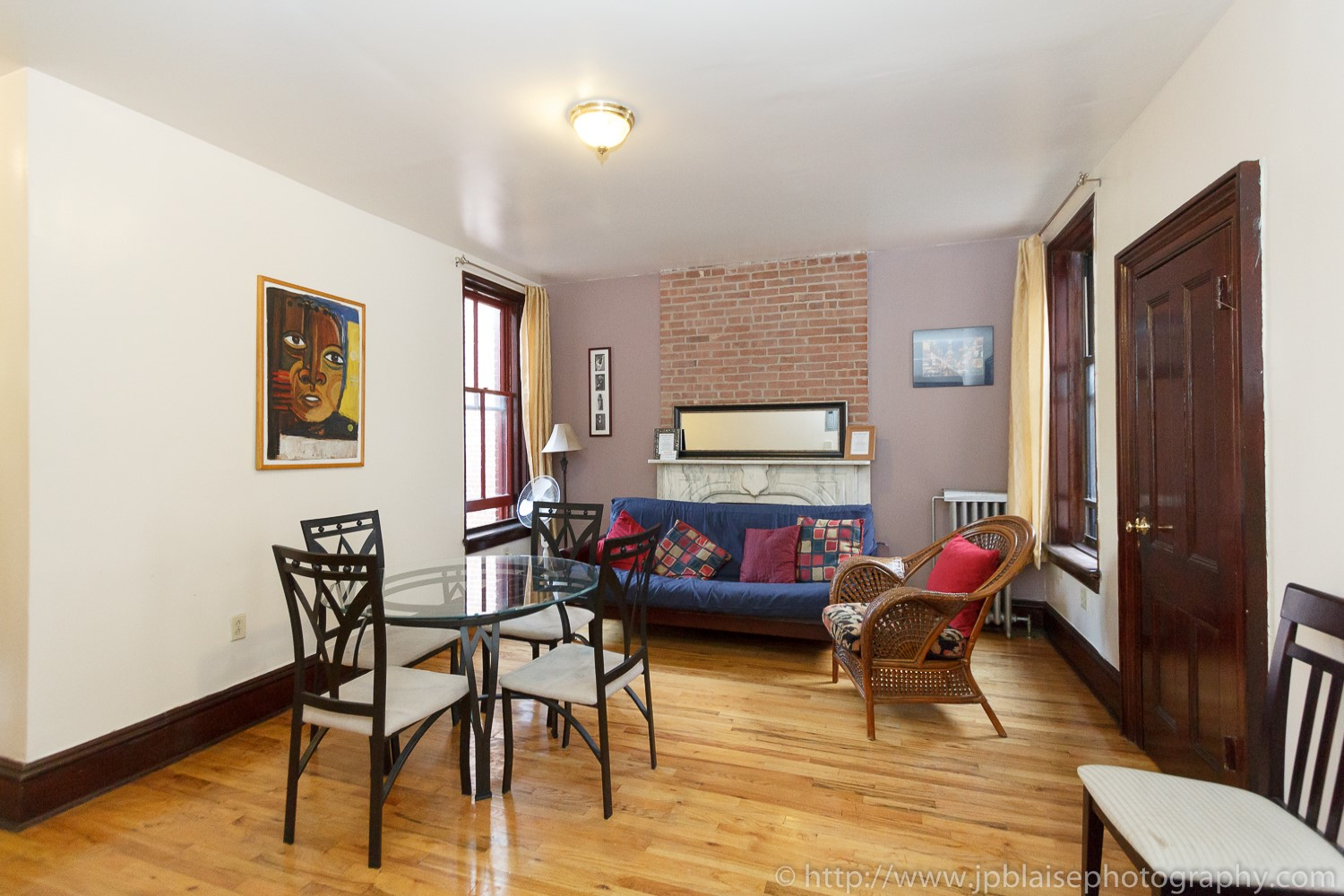 living room interior photographer work three bedroom apartment in harlem new york
