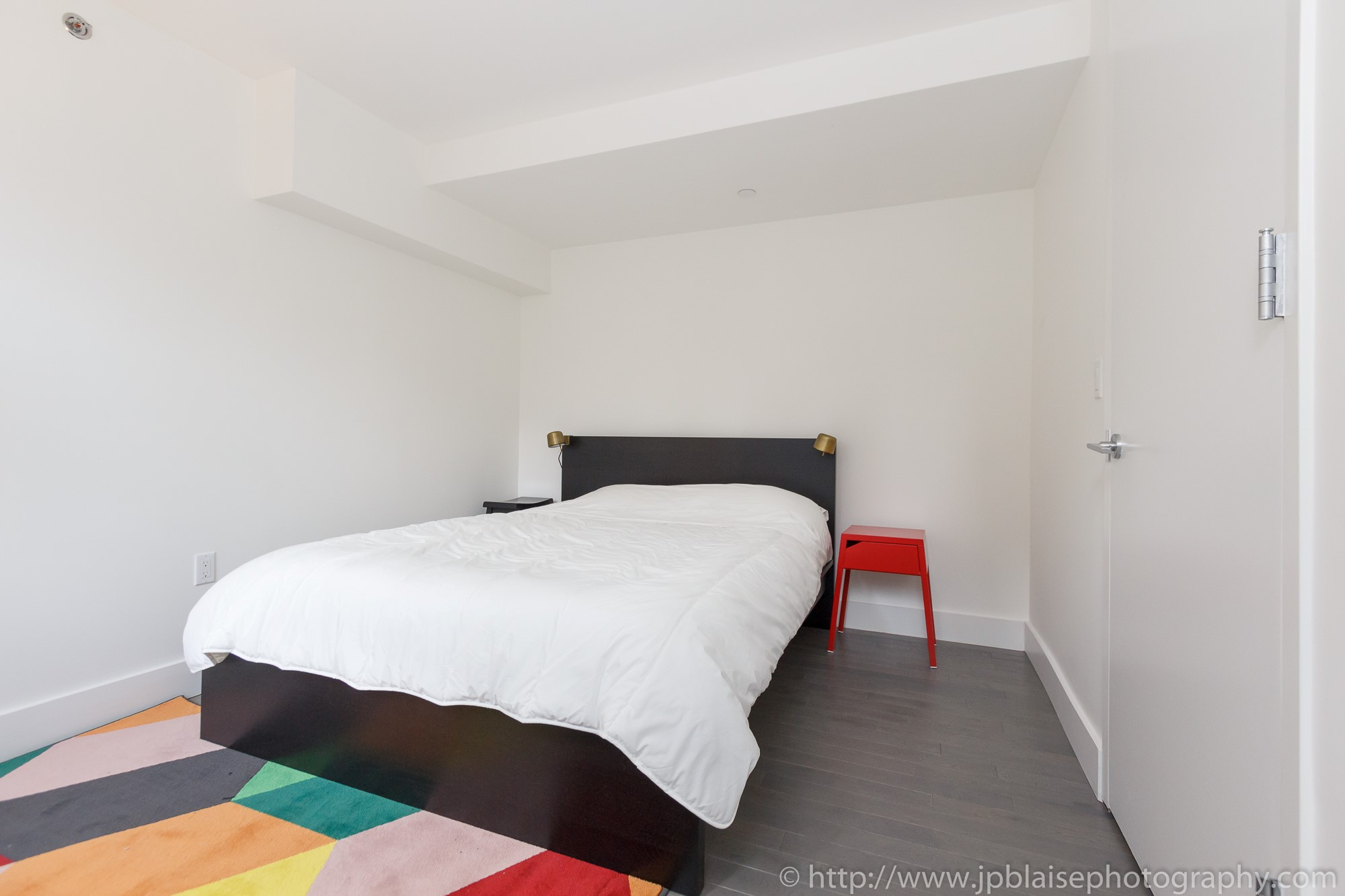 new york city apartment photographer midtown west bedroom
