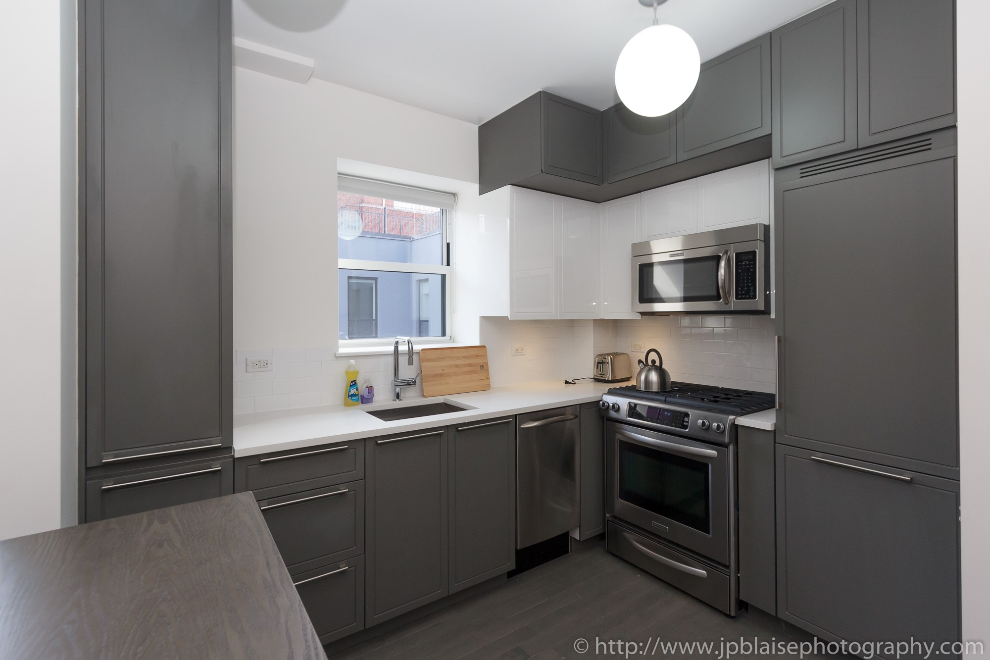 new york city apartment photographer midtown west kitchen