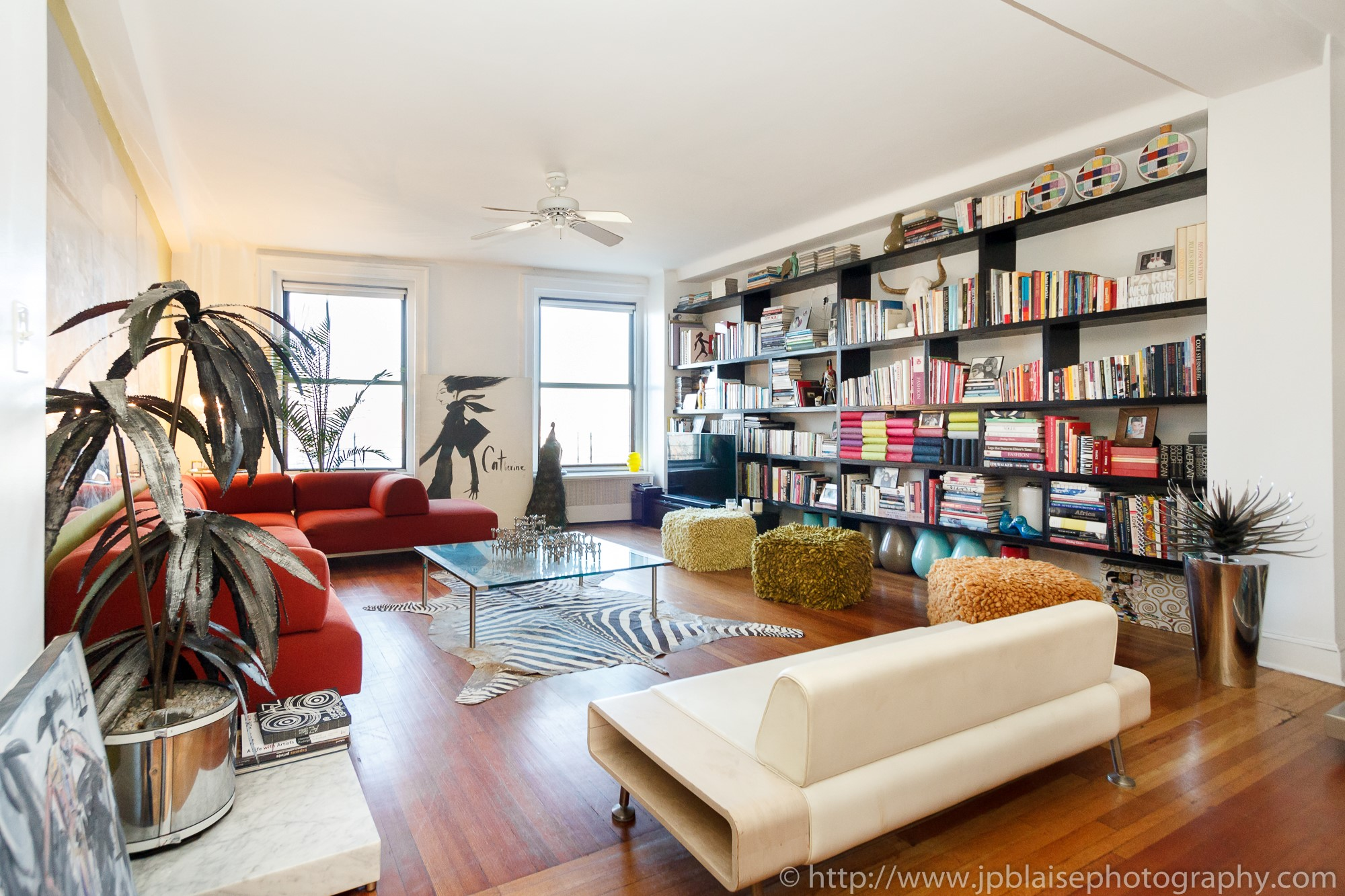 Great New York Apartment Photographer Work Of The Week: Artsy Loft On The Upper  West Side
