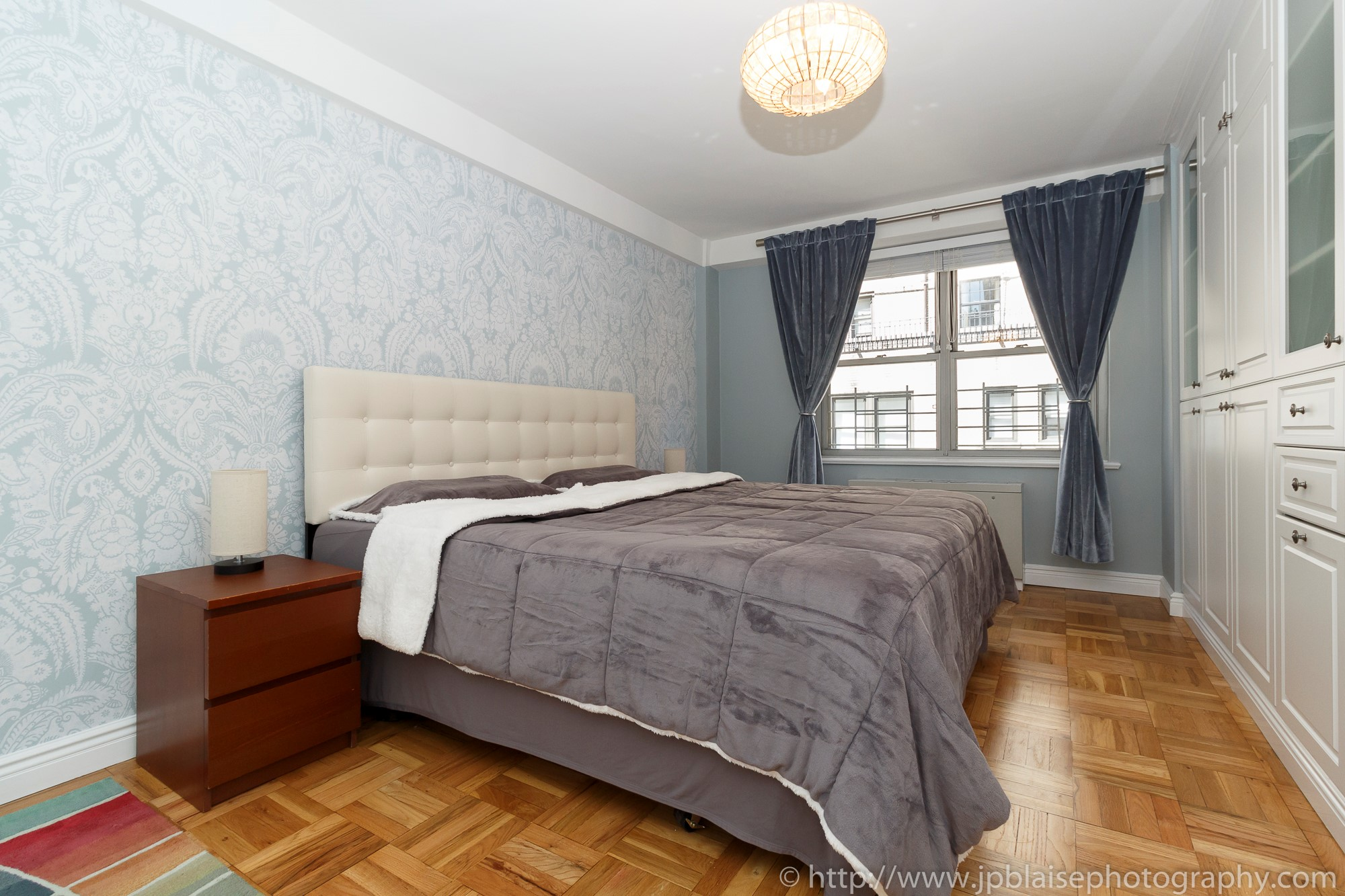 nyc apartment photographer two bedroom unit upper east side real estate photography interior new york ny master bedroom